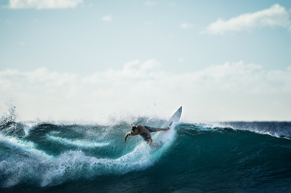 physical benefits of surfing