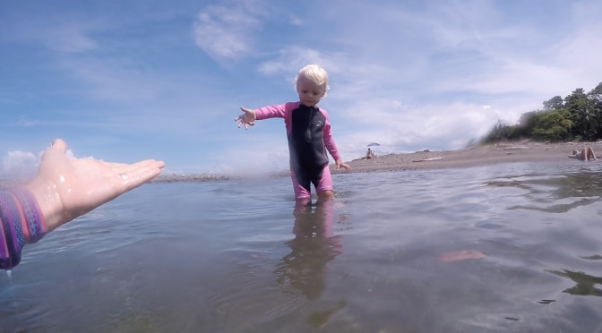 How to teach your child to surf