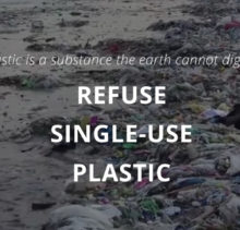 Refuse Single Use Plastic to Fight the Plastic Problem