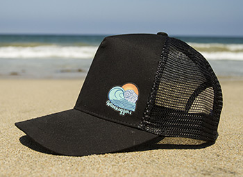 Wavehuggers Trucker Hat - Photo #1