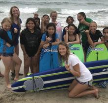 Helina of Wavehuggers Partners with Sand Sisters LA