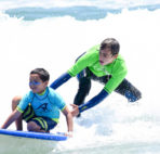 Wavehuggers Announces Partnership with Aqua Surf for Kids Surf Camp