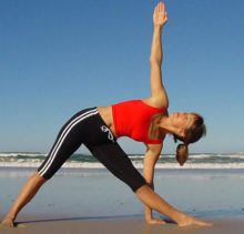Top Five Yoga Moves Extended Triangle Pose