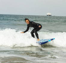 Surfing Airbnb Experience with Wavehuggers