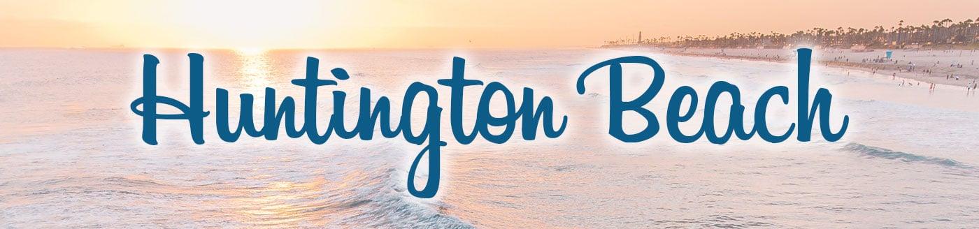 Huntington Beach Button
