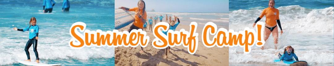 Summer Surf Camp Button